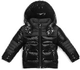 Moncler Girls' Shiny & Matte Puffer Jacket - Baby