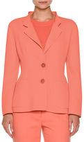 Agnona Two-Button Notch-Collar Jacket