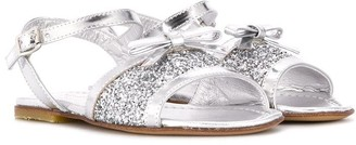 Montelpare Tradition Glittered Flat Sandals