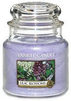 Yankee Candle Lilac Blossoms Medium Jar Candle, Floral Scent