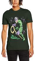 Batman Men's Riddler T-Shirts,Large