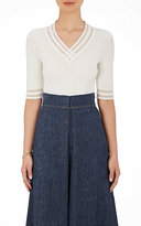 BY. Bonnie Young Women's Cashmere Rib-Knit Top
