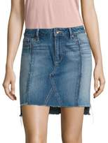 Paige Chiara Denim Mini Skirt