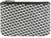 Pierre Hardy 'Canvas Cube' clutch - women - Calf Leather/Canvas - One Size