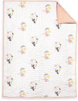 Nurseryworks Nursery Works Menagerie Organic Cotton Hand-Quilted Blanket