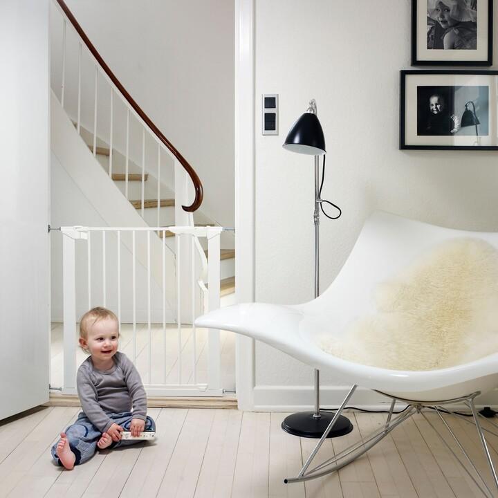 Thumbnail for your product : Babydan Premier True Pressure Gate, White