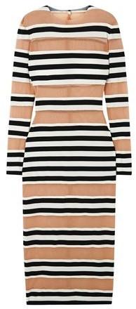 Thumbnail for your product : Norma Kamali 3/4 length dress