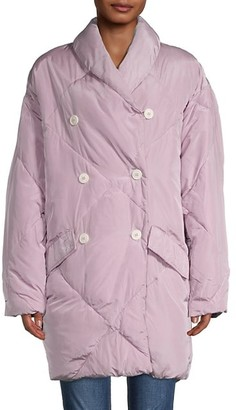 Free People Ella Quilted Puffer Coat