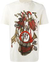 Maison Margiela equestrian print T-shirt - men - Cotton - 48