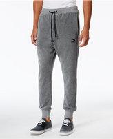 Puma Men's Velour T7 Track Pants