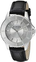 Versus By Versace Women's SH7140015 TOKYO Analog Display Quartz Black Watch
