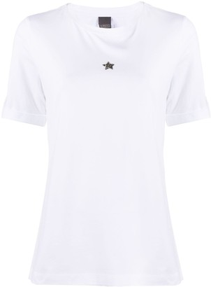 Lorena Antoniazzi Star Applique T-shirt