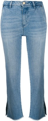 MICHAEL Michael Kors cropped straight jeans