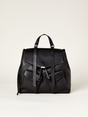 AllSaints Captain Leather Backpack