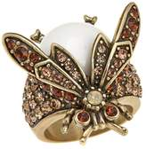 "Heidi Daus Bug Off"" Crystal Ring"