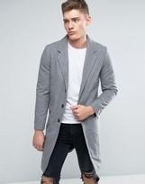 Lindbergh Overcoat In Gray Wool
