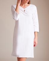 Laurence Tavernier Jersey Pointelles Short Gown