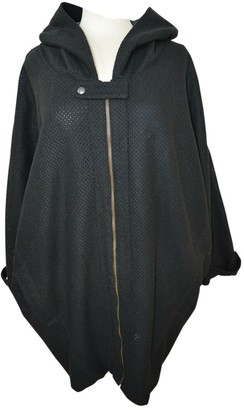 Andrea Crews Black Wool Coats