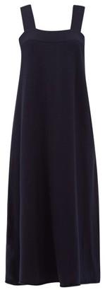 Extreme Cashmere - No.130 Carisma Stretch-cashmere Midi Dress - Womens - Navy