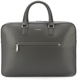 Paul Smith Zip-Around Logo Laptop Bag