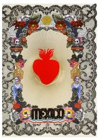 Chronicle Books X Christian Lacroix Mexico Day Of The Dead Journal - Red