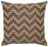 Elaine Smith Smoke Basket Weave Indoor/Outdoor Accent Pillow