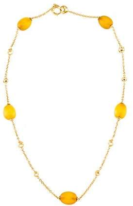 Di Modolo 18K Chalcedony Station Necklace