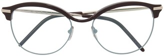 Marni Wayfarer Clear-Lens Glasses