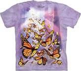 The Mountain Monarch Butterflies Adult T-Shirt Tee