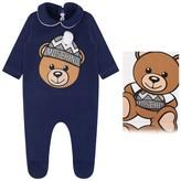 Moschino MoschinoNavy Teddy Babygrow
