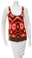 Tory Burch Silk Printed Top