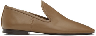 Lemaire Brown Soft Loafers