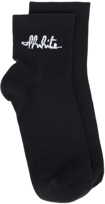Off-White Signature Logo Socks
