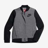 Nike Sportswear Tech Fleece Destroyer Big Kids' (Girls') Jacket