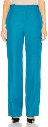 Balenciaga Tailored Pant in Petrol Blue | FWRD