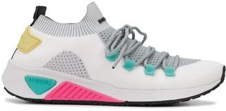 Diesel knit-upper slip-on sneakers