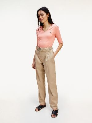 Tommy Hilfiger Essential Pima Cotton Tapered Trousers
