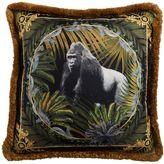Versace Bob Gorilla Printed Silk Accent Pillow