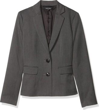 Ellen Tracy Women's 2-Button Jacket