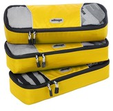 eBags Slim Packing Cubes 3pc Set - Canary
