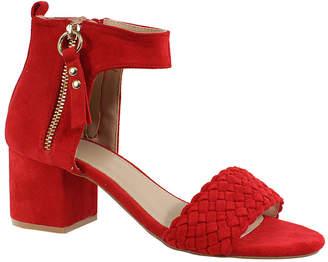 Yoki Women's Sandals RED - Red Ankle-Strap Hadwinp 20 Sandal - Women