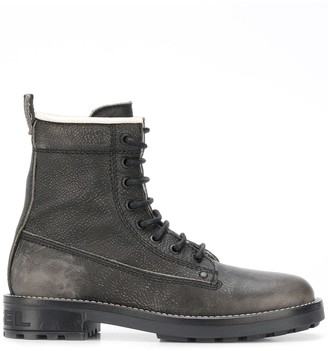 Diesel Ankle Lace-Up Boots