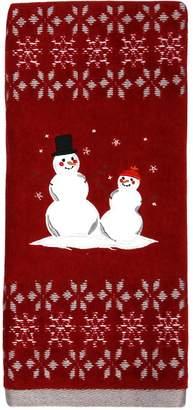 St Nicholas Square Snowman Friends Hand Towel