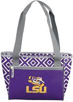 Logo Brand LSU Tigers 16-Can Diamond Cooler Tote