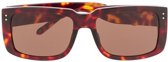Linda Farrow Morisson rectangle frame sunglasses