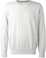 Brunello Cucinelli crew neck top - men - Cotton - 50