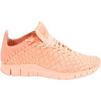 Nike Free Run Pink Cloth Trainers