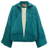By Walid Judy 19th-century Crochet-cotton Jacket - Womens - Blue