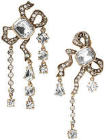 Banana Republic Jeweled Asymmetric Bow Clip-On Earring