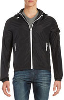 Michael Kors Hooded Windbreaker
